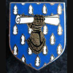 GENDARMERIE : Écu du commandement des écoles et des formations gendarmerie nationale Drago