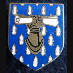 GENDARMERIE : Écu du commandement des écoles et des formations gendarmerie nationale Drago Paris