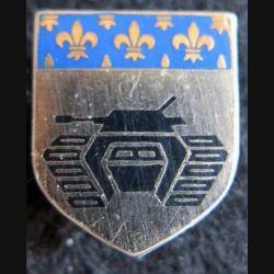 GENDARMERIE : Écu du groupement blindé de la gendarmerie mobile (GBGM) de Satory Drago Paris