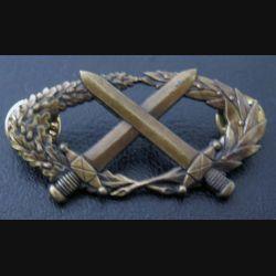 BMPE : insigne du brevet militaire professionnel élémentaire de fabrication Delsart bronze