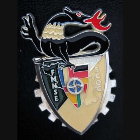 17° RCS :  ECQG de la Force multinationale Sud Est FMNSE Ballard modèle prestige argenté N° 8