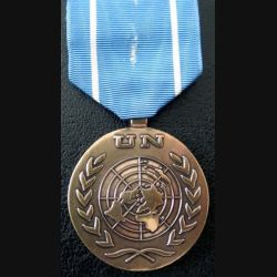ONU : médaille de l'ONU UNTSO United Nations Truce Supervision Organization attache US