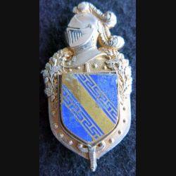 GENDARMERIE : insigne métallique du commandement de circonscription régionale de gendarmerie de CHAMPAGNE A. Bertrand H. 696