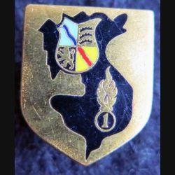 GENDARMERIE : Écu de la 1° légion garde républicaine de marche Drago Paris sans écrou