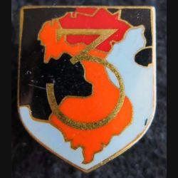 GENDARMERIE : Écu de la 3° légion garde républicaine de marche Drago Paris sans écrou