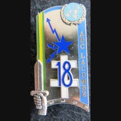 PROMOTION ENSOA : insigne de promotion Adc Lacombe de fabrication Balme Saumur G. 4305