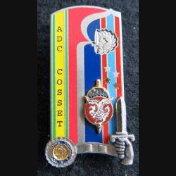 PROMOTION ENSOA : insigne de promotion Adc Cosset de fabrication Arthus Bertrand G. 4970 numéroté 305