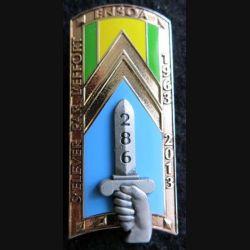 PROMOTION ENSOA : insigne de promotion du cinquantenaire de fabrication Arthus Bertrand G. 5349 numéroté 0895