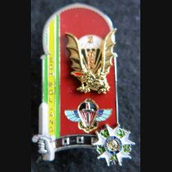 PROMOTION ENSOA : insigne de promotion Sch Rolland de fabrication LMP G. 5505 numéroté 1200