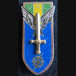 PROMOTION ENTSOA : insigne de promotion adjudant  Val de fabrication Balme Saumur G. 3564