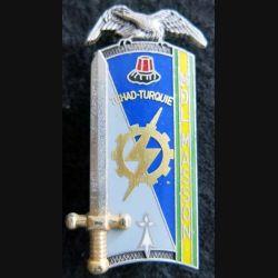 PROMOTION ENTSOA : insigne de promotion Mdl  Masson de fabrication Balme Saumur G. 4352 numéroté 760