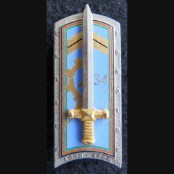 PROMOTION ENTSOA : insigne de promotion Issoire 1996-1998 de fabrication JMM