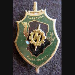 PROMOTION ENTSOA : insigne de promotion sergent-chef Point-Dumont de fabrication Drago Paris