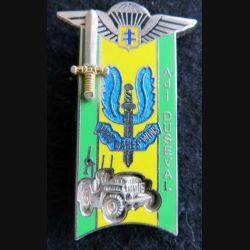 PROMOTION ENTSOA : insigne de promotion adjudant Duseval de fabrication Destrée G. 4119