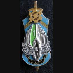 PROMOTION ENTSOA : insigne de promotion Maréchal-des-logis chef Toussaint de fabrication Beraudy 63 Ambert