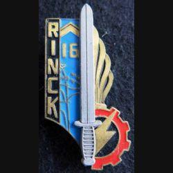PROMOTION ENTSOA : insigne de promotion sergent Rinck de fabrication Beraudy 63 Ambert