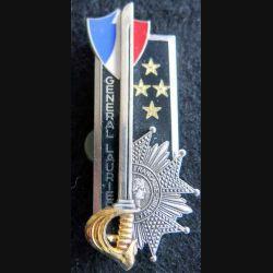 PROMOTION EMIA  : insigne métallique de la promotion Général Laurier Arthus Bertrand Paris G. 2665