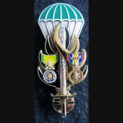 PROMOTION ESOGN : insigne métallique de la promotion Major Mortier Arthus Bertrand Paris GN. 0329