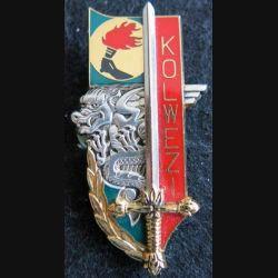 PROMOTION EOR : insigne métallique de la promotion Kolwezi Balme Saumur G. 3562
