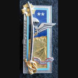 PROMOTION EMIA : insigne métallique de la 38° promotion Général Bergé Arthus Bertrand Paris G. 4621