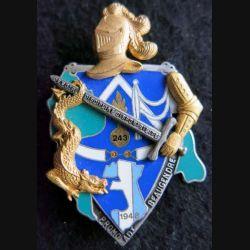 PROMOTION ESOGN : insigne métallique de la promotion Adjudant Beaugendre Fraisse Paris