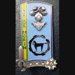 PROMOTION ENSOA : insigne de promotion Major Morin de fabrication Boussemart G. 5563 numéroté