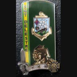 PROMOTION ENSOA : insigne de promotion Sergent Delestre de fabrication Boussemart G. 5556 numéroté