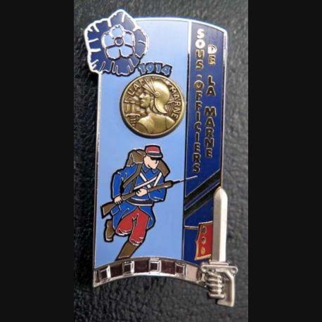 PROMOTION ENSOA : insigne de promotion Sous officier de la Marne de fabrication GLF G. 5442 numéroté