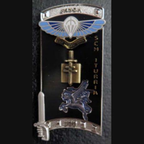 PROMOTION ENSOA : insigne de promotion SCH Iturria de fabrication GLF G. 5472