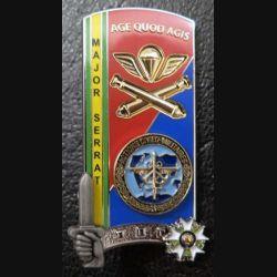 PROMOTION ENSOA : insigne de promotion Major Serrat de fabrication LMP G. 5576 numéroté
