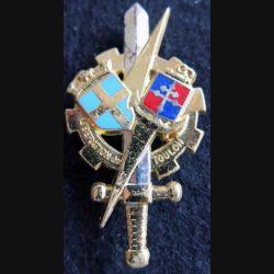 PROMOTION ENTSOA : insigne de promotion Libération de Toulon de fabrication Balme Saumur G. 4241