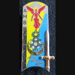 PROMOTION ENTSOA : insigne de promotion Mdl Ambrosini de fabrication Balme Saumur G. 3756