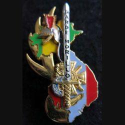 PROMOTION ESOGN : insigne métallique de la promotion Garde Morillo Boussemart GN. 0315 doré