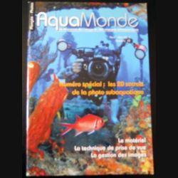 AQUAMONDE N° 62  Avril-Mai 2015 : superbe magazine sur l'image et les voyages subaquatiques (C146)