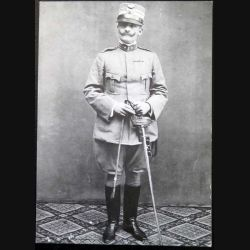 Copie de carte postale de la tenue de Colonel du 29° régiment de cavalerie Italie 1913