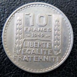 10 francs Turin 1949 occasion -1-
