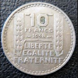 10 francs Turin 1948 occasion -3-
