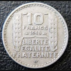 10 francs Turin 1948 B occasion -5-