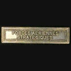 """BARRETTE """"FORCES AÉRIENNES STRATÉGIQUES"""""""