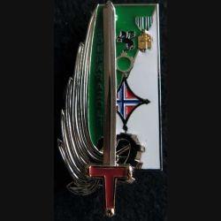 PROMOTION OAEA OAES : insigne métallique de la promotion Colonel Parazols Delsart G. 5411