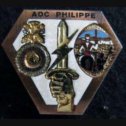 PROMOTION EETAT : insigne de promotion ADC PHILIPPE de fabrication Destrée