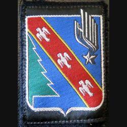 4° DAM : insigne tissu de la 4° division aéromobile 5,3 x 7,5 cm