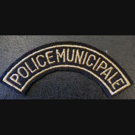 bande d'épaule de la police municipale 11 cm de largeur