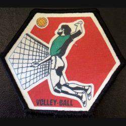 insigne tissu Volley ball 11 x 9,5 cm