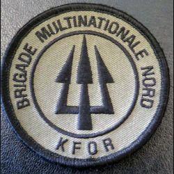 insigne de la brigade multinationale Nord KFOR de diamètre 8 cm
