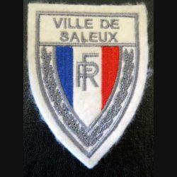 POLICE : Insigne de la police nationale de la ville de Bayeux en tissu 6 x 8 cm