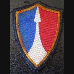 2° CA : insigne tissu du 2° Corps d'armée sans chiffre