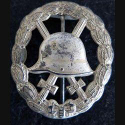 ALLEMAGNE PRUSSE  : insigne des blessés Allemand de 1914 -1918 modèle ajouré
