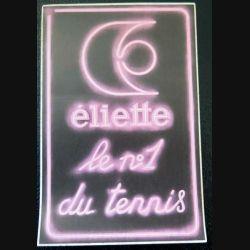 Autocollant Eliette le n°1 du tennis