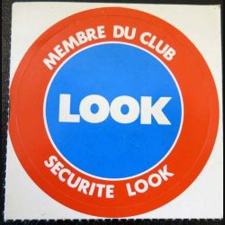 Autocollant Membre du Club Look securité look